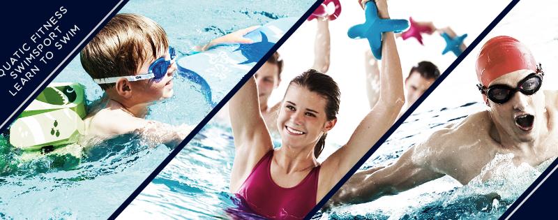 Aquatic Fitness, Swimsport, learn to swim